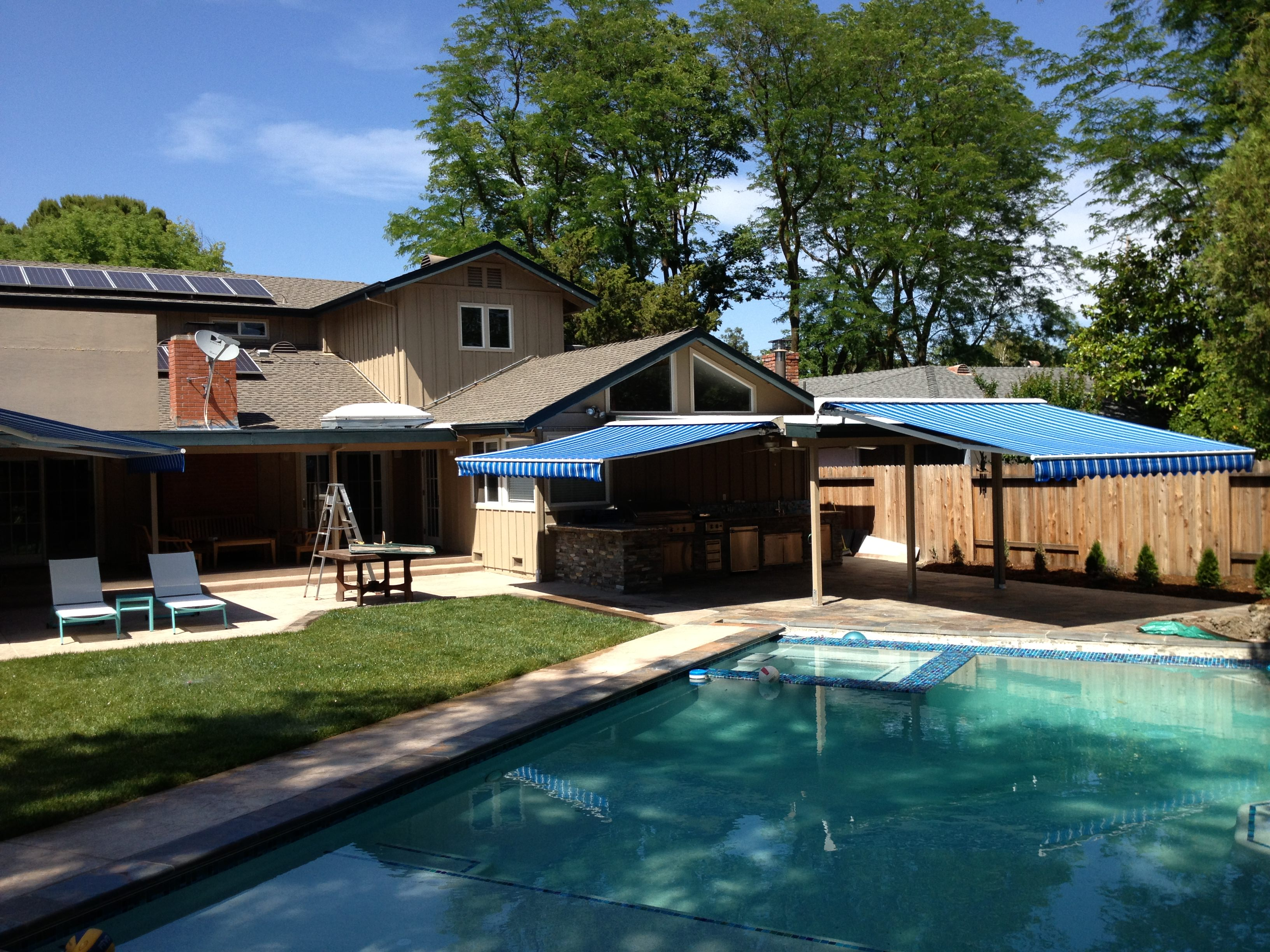 co awnings evans awning providing custom covers retractable patio and alumawood