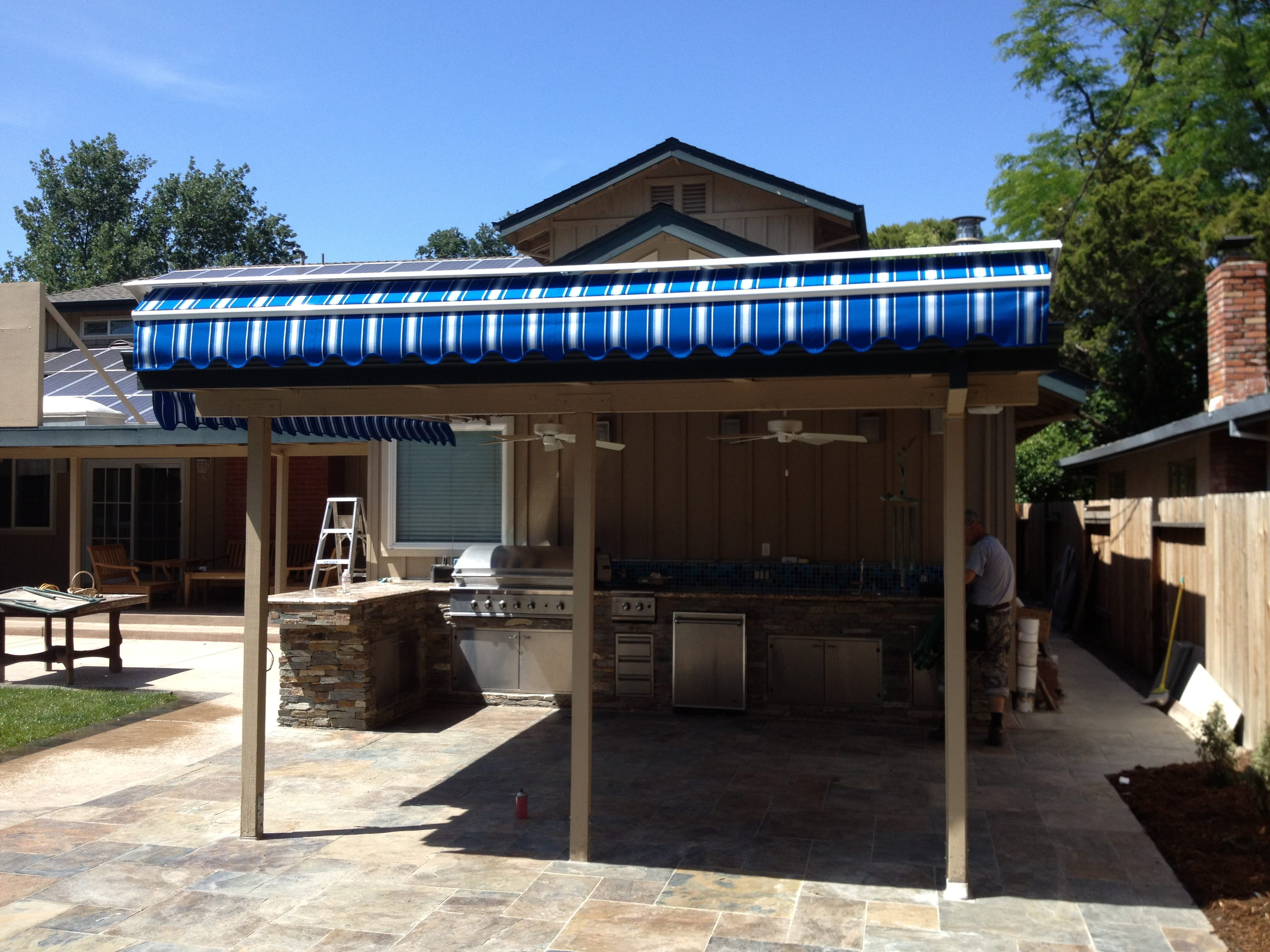 installation and patio calgary supplier retractable more awnings awning stobag inc