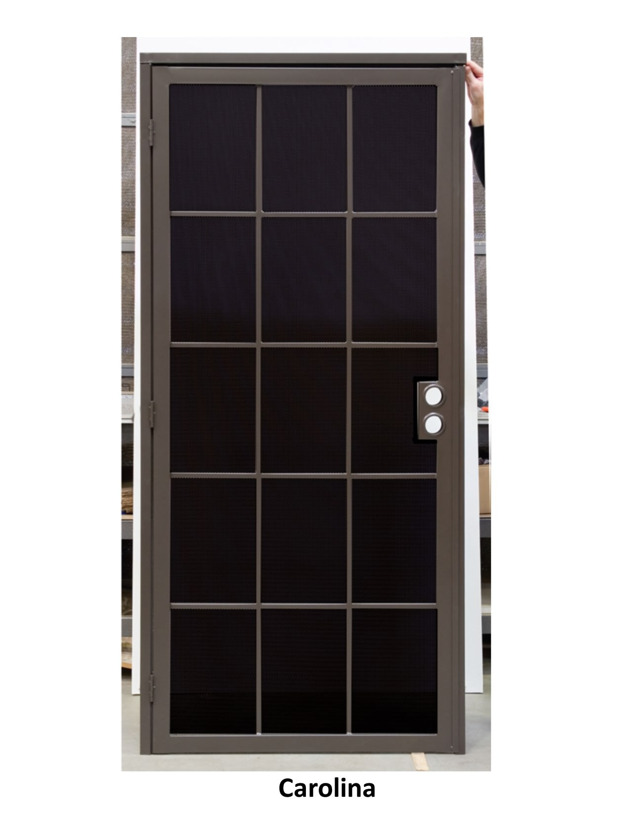 Security doors screens 4 less for Security window screens