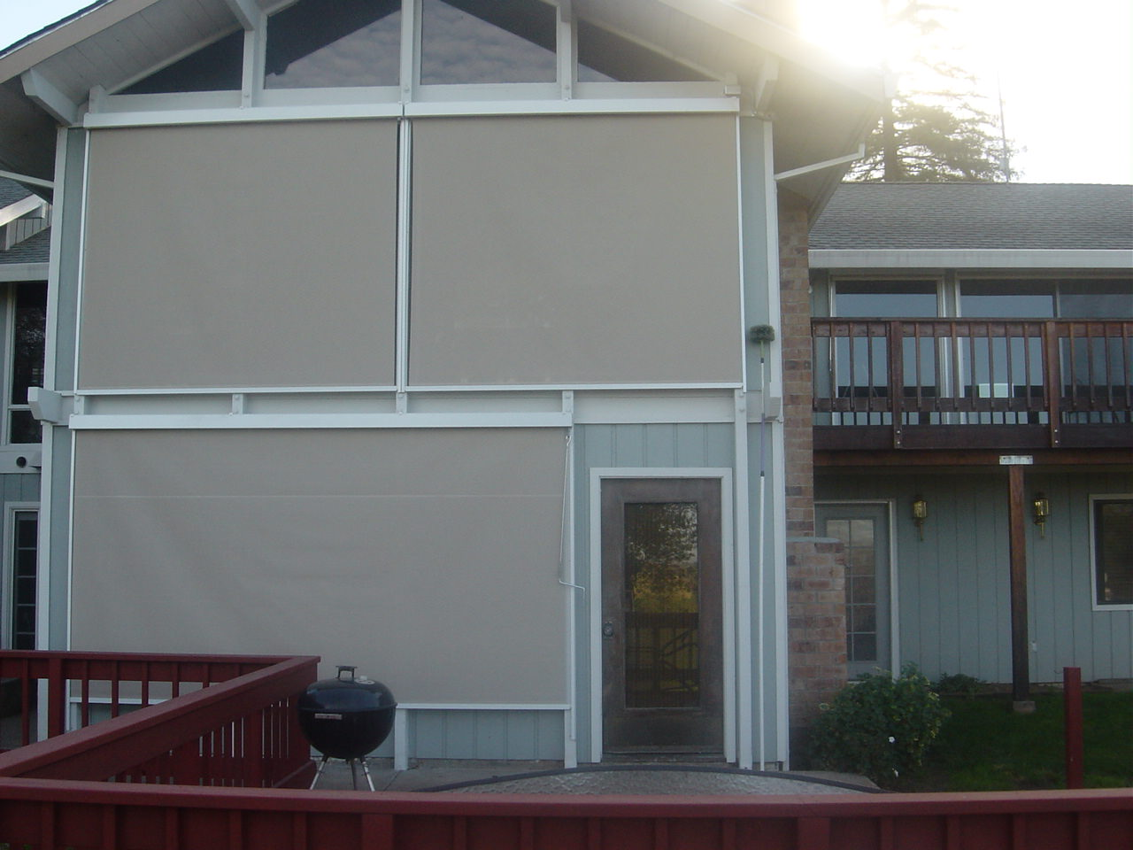 Retractable Sun Shades Vertical Screens 4 Less