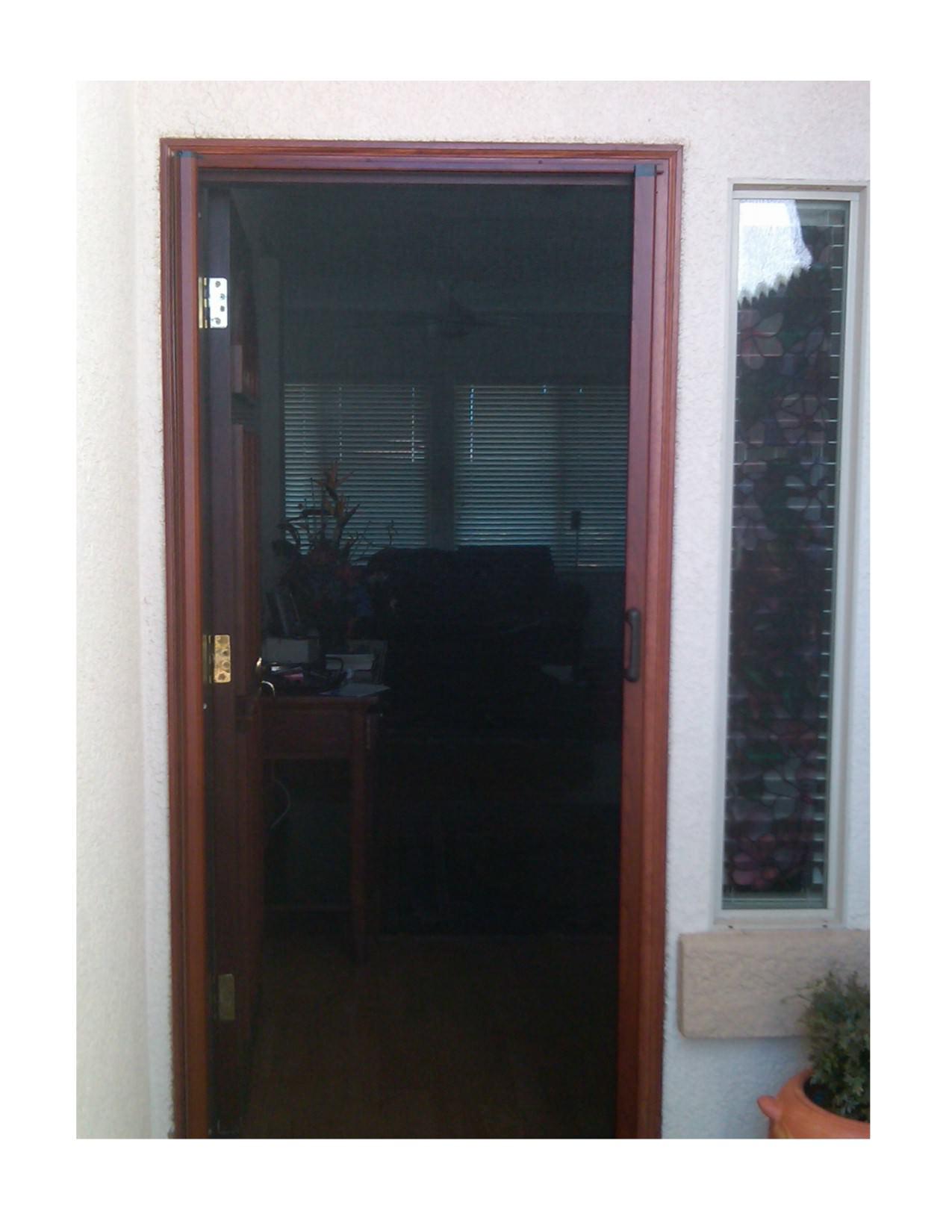 installation watch doors odl brisa youtube screen video retractable door double