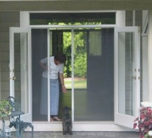 Mirage Retractable Screen Doors Screens 4 Less