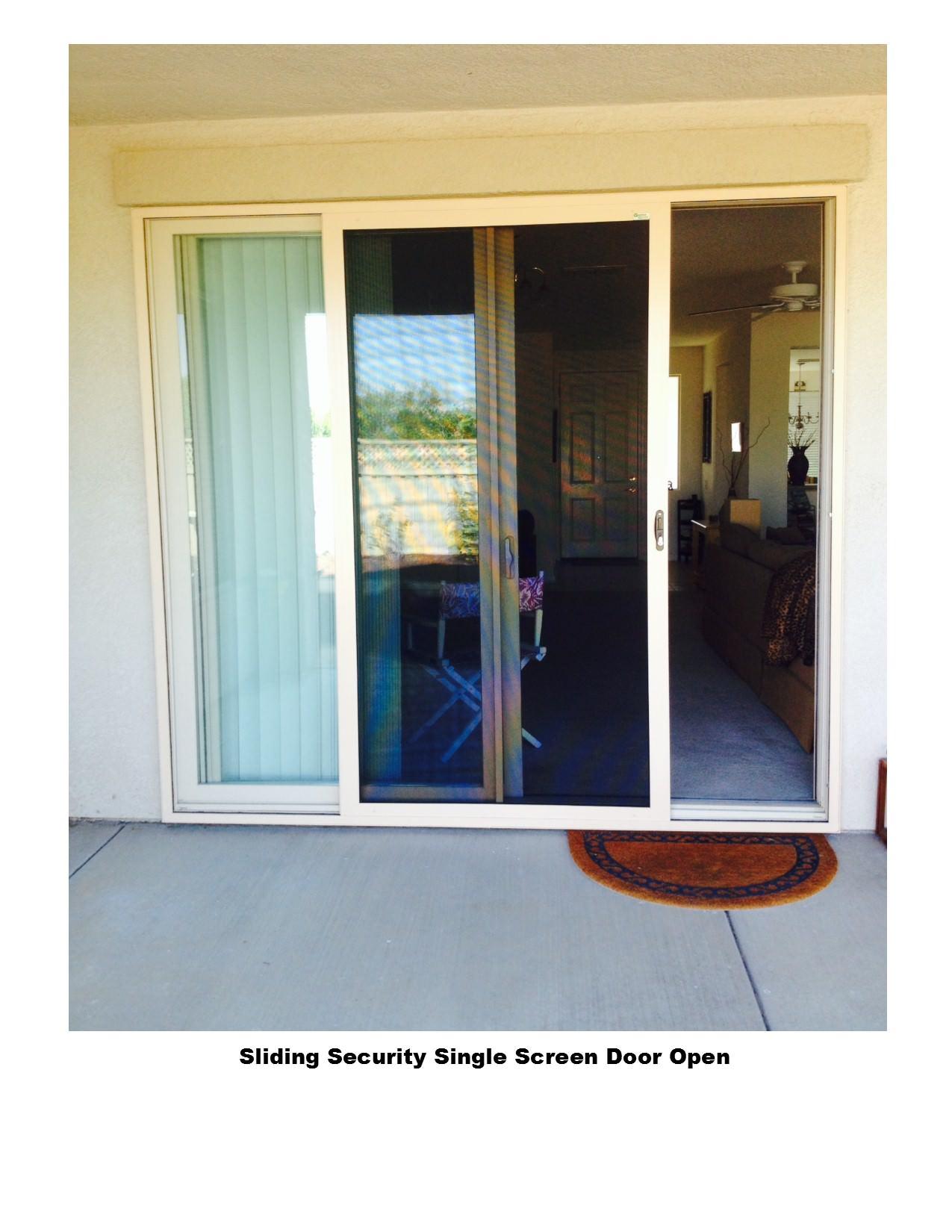 Sliding Security Screen Doors Screens 4 Less