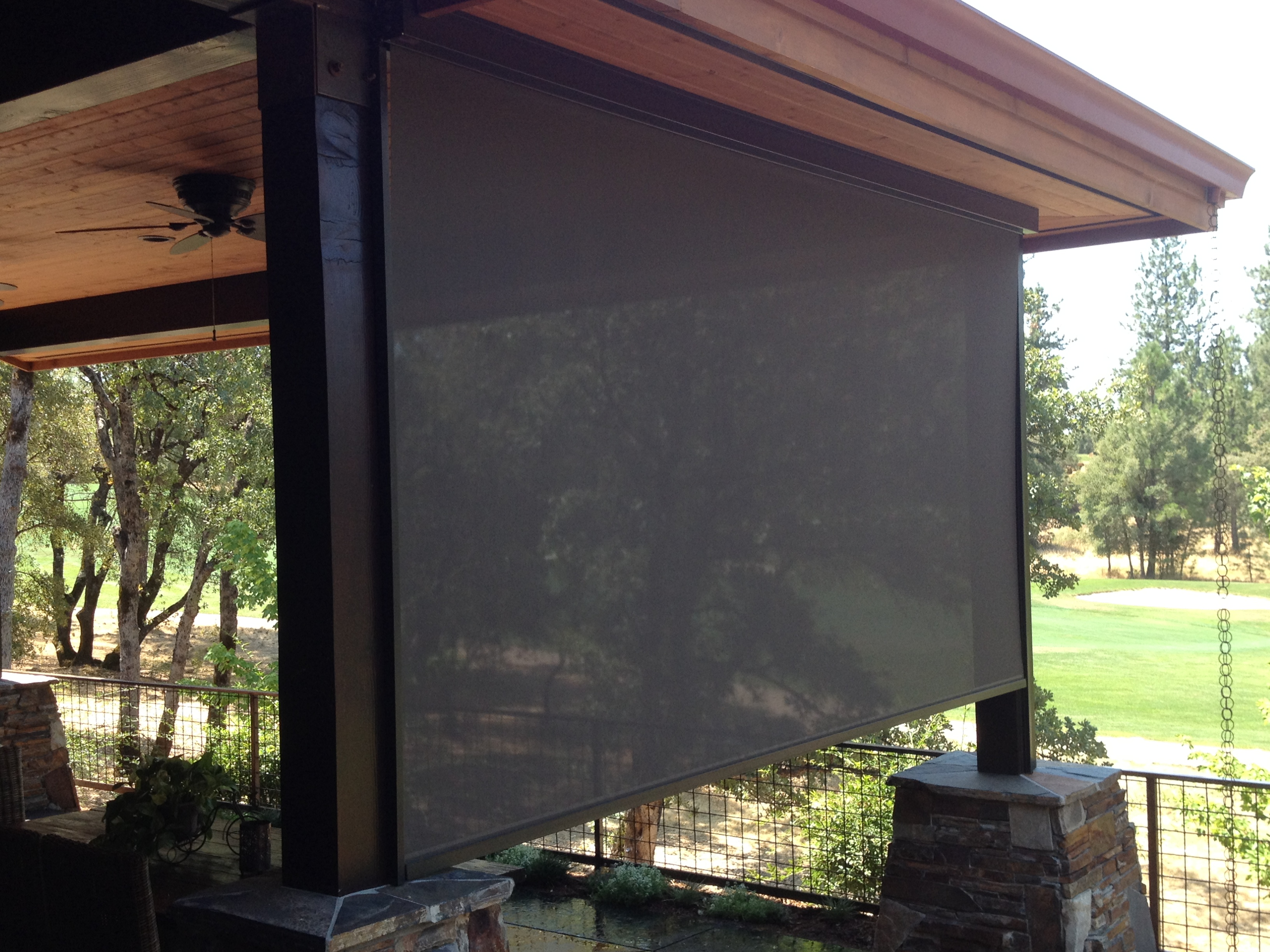 Retractable Sun Shades (Vertical) ‹ Screens 4 Less